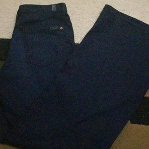 """7 for All Mankind (7FAM) """"The Trouser"""" Flare"""